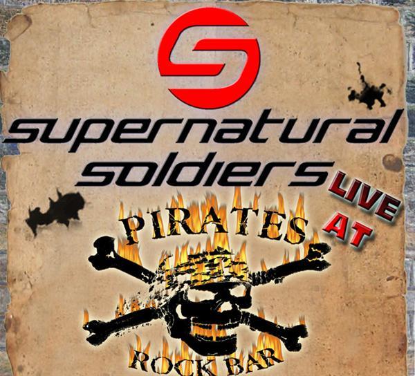 Supernatural Soldiers (pop rock) στο Pirates Rock Bar