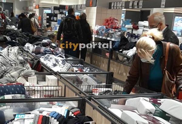 Lock down: Ικανοποίηση ΕΣΘ για αποκλεισμό πώλησης διαρκών αγαθών από τα supermarket