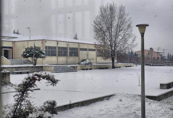 Ωραιόκαστρο: Κλειστά την Δευτέρα, 18 Ιανουαρίου 2021, τα σχολεία λόγω παγετού.