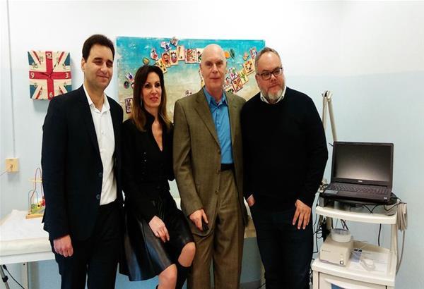 Δωρεά σύγχρονου βιντεο-εγκεφαλογράφου στην Α Παιδιατρική Κλινική του ΑΠΘ στο Ιπποκράτειο Θεσσαλονίκης