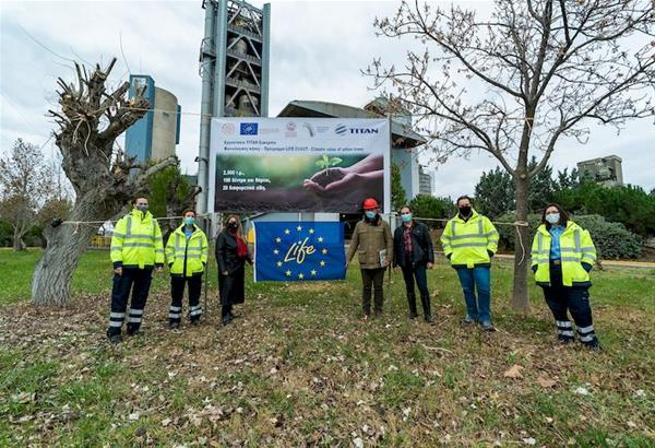 TITAN Ευκαρπίας: Ιδρύθηκε ο πρώτος Φαινολογικός Κήπος της Ελλάδας