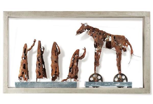 «Τρωάδες»: Έκθεση εικαστικών έργων του Σάκη Παπαγιάννη στο Ίδρυμα Μιχάλης Κακογιάννης