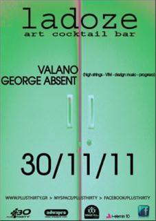 Valano, George Absent @ La Doze