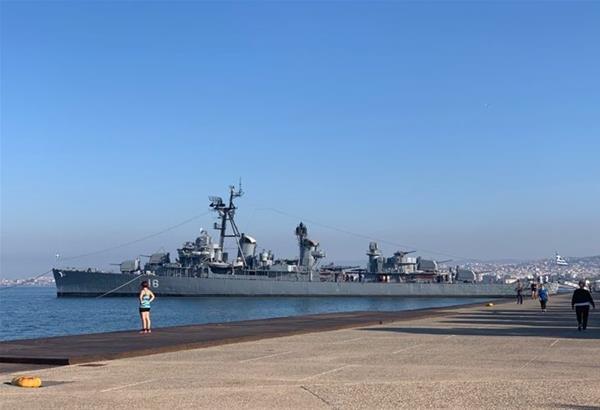 Α/Τ ΒΕΛΟΣ στη Νέα παραλία της Θεσσαλονίκης: Αυτό είναι το πρόγραμμα των επισκέψεων