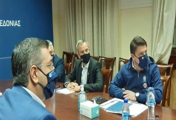 Χαρδαλιάς μετά τη σύσκεψη «δεν υπάρχει θέμα πανικού, υπάρχει θέμα απόλυτης επιφυλακής»