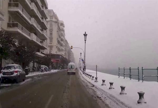 Αρναούτογλου: Χιόνι ακόμα και στο κέντρο της Θεσσαλονίκης το Σάββατο 16/1