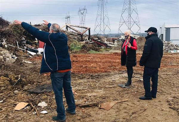 Δ. Ωραιοκάστρου: Μεγάλη επιχείρηση για να κλείσει παράνομη χωματερή στην περιοχή «Κοσκινάς»