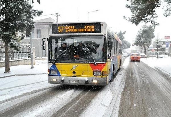 Απροετοίμαστη η Θεσσαλονίκη - Προβλήματα στα δρομολόγια του ΟΑΣΘ - στις ανηφορικές διαδρομές