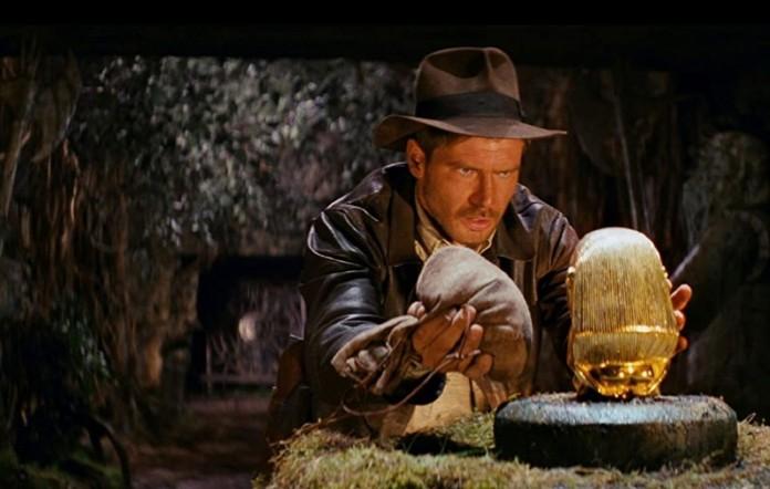 Φωτογραφία του Χάρισον Φορντ στην ταινία Ιντιάνα Τζόουνς -Οι Κυνηγοί της Χαμένης Κιβωτού(1981)