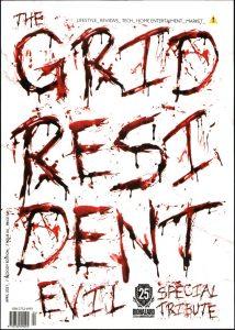 Πρωτοσέλιδο του εντύπου «THE GRID» που δημοσιεύτηκε στις 01/04/2021