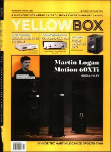 Πρωτοσέλιδο του εντύπου «YELLOW BOX» που δημοσιεύτηκε στις 01/06/2021