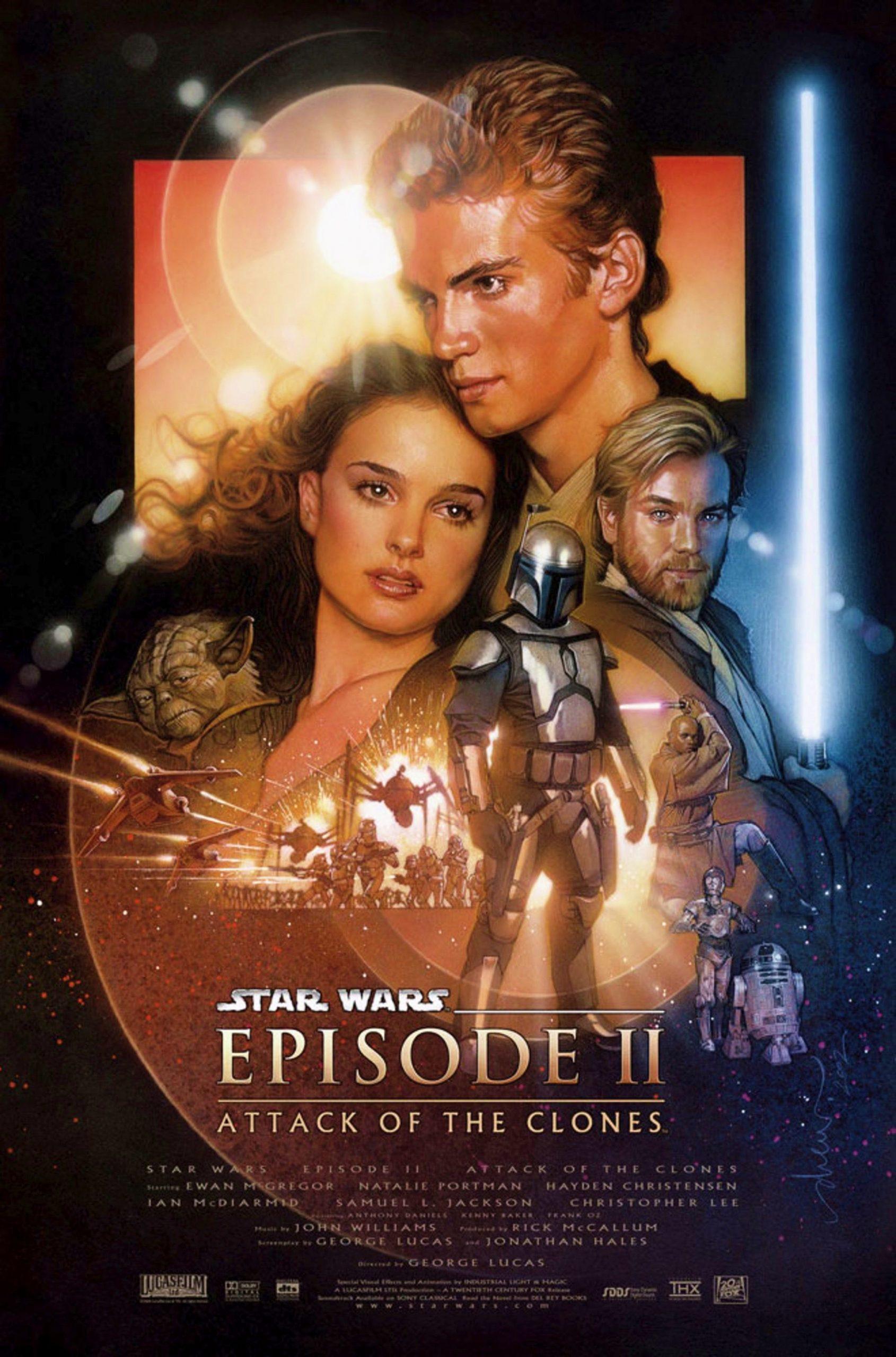 Πόστερ της ταινίας «Ο πόλεμος των άστρων: Επεισόδιο 2 – Η επίθεση των κλώνων (2002)»