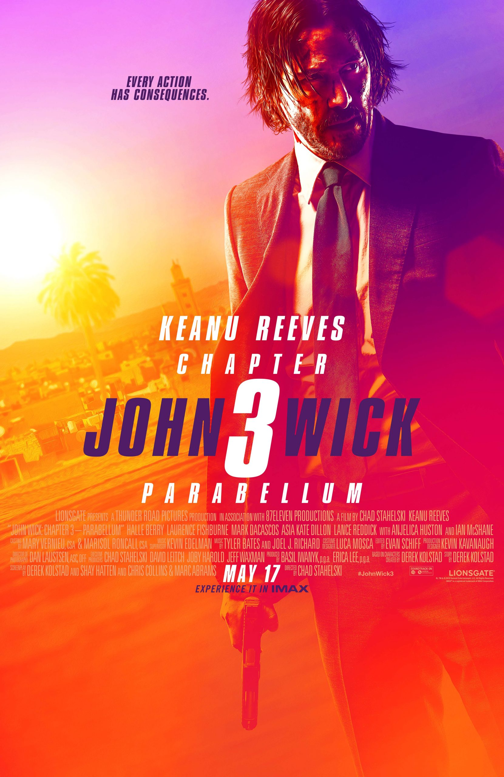 Πόστερ της ταινίας «John Wick: Κεφάλαιο 3 (2019)»