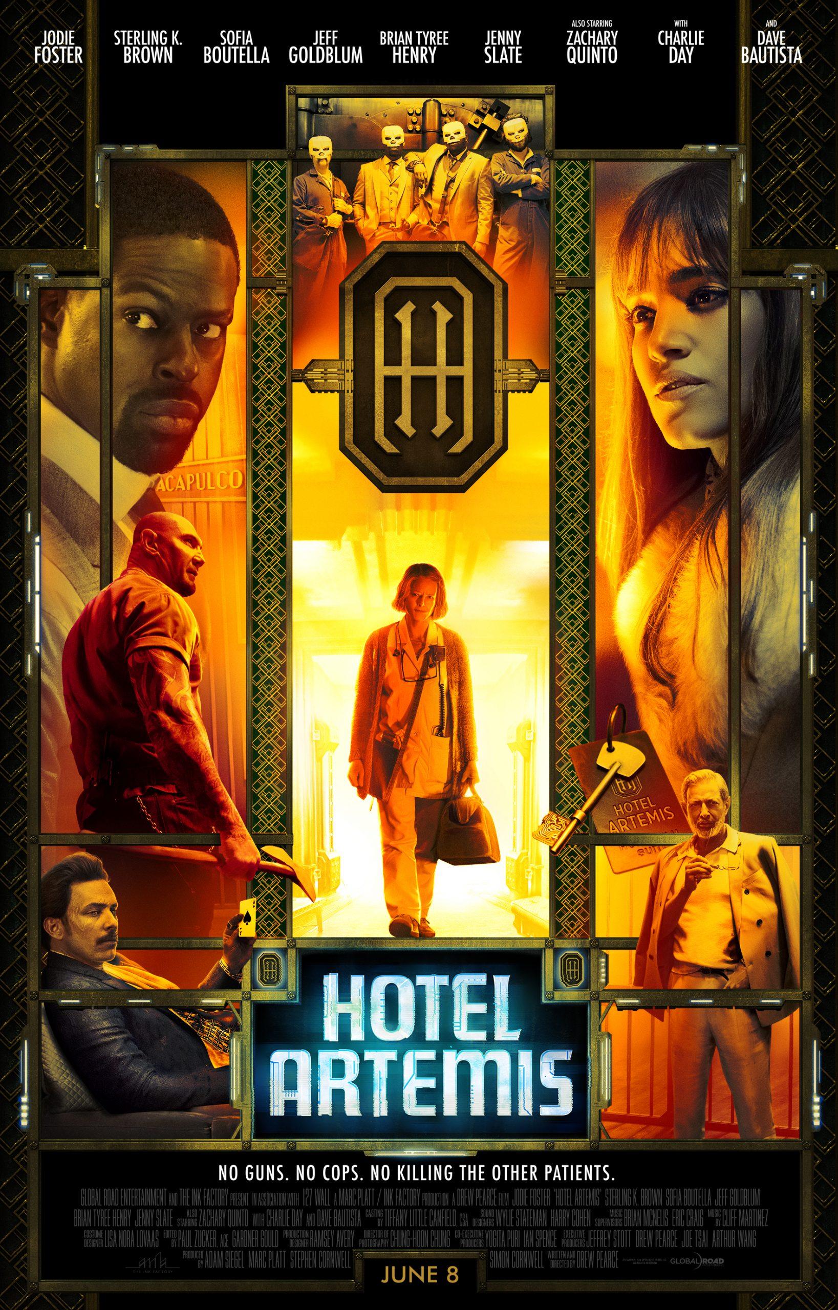 Πόστερ της ταινίας «Hotel Artemis (2018)»