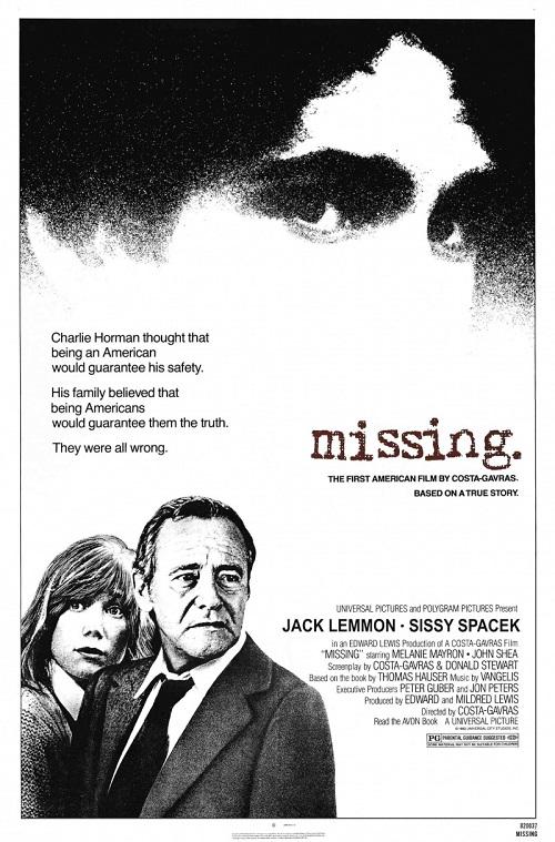 Πόστερ της ταινίας «Ο Αγνοούμενος (1982)   Missing»