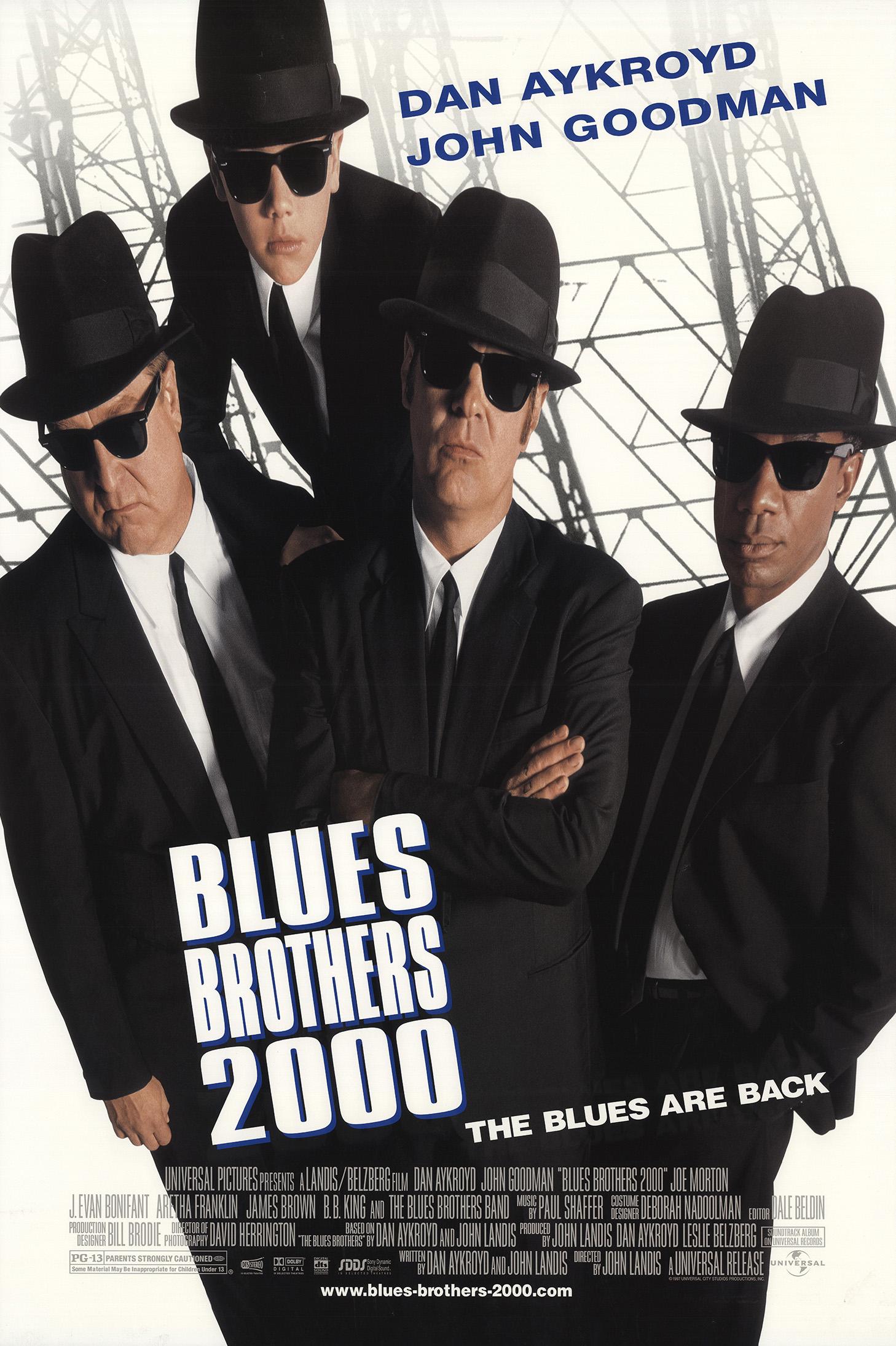 Πόστερ της ταινίας «Blues Brothers 2000 (1998)»