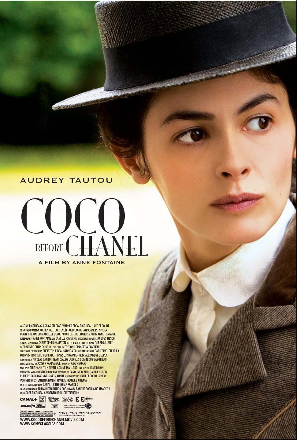 Πόστερ της ταινίας «Στον κόσμο της Κοκό Σανέλ (2009)   Coco Before Chanel»