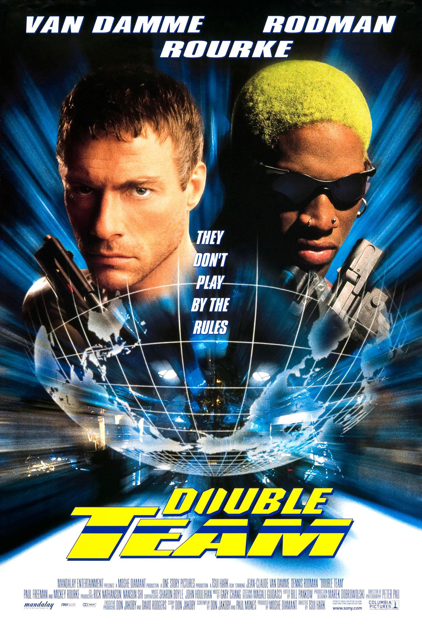 Πόστερ της ταινίας «Διπλή δύναμη (1997)   Double Team»