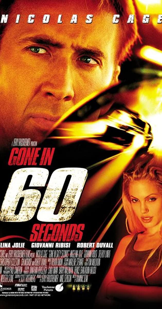 Πόστερ της ταινίας «Σε 60 δευτερόλεπτα (2000) | Gone in 60 Seconds»