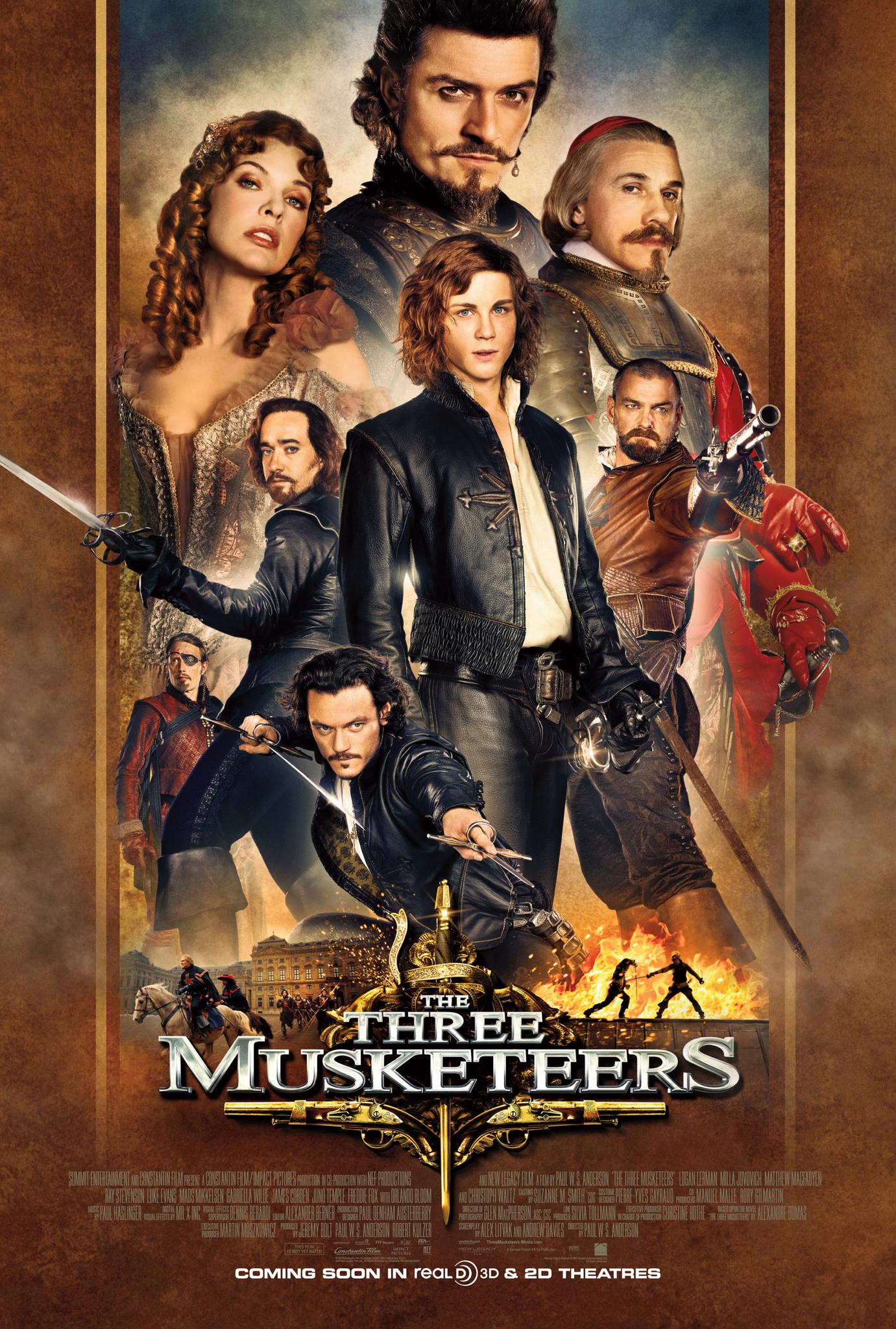 Πόστερ της ταινίας «Οι Τρεις Σωματοφύλακες (2011)   The Three Musketeers»