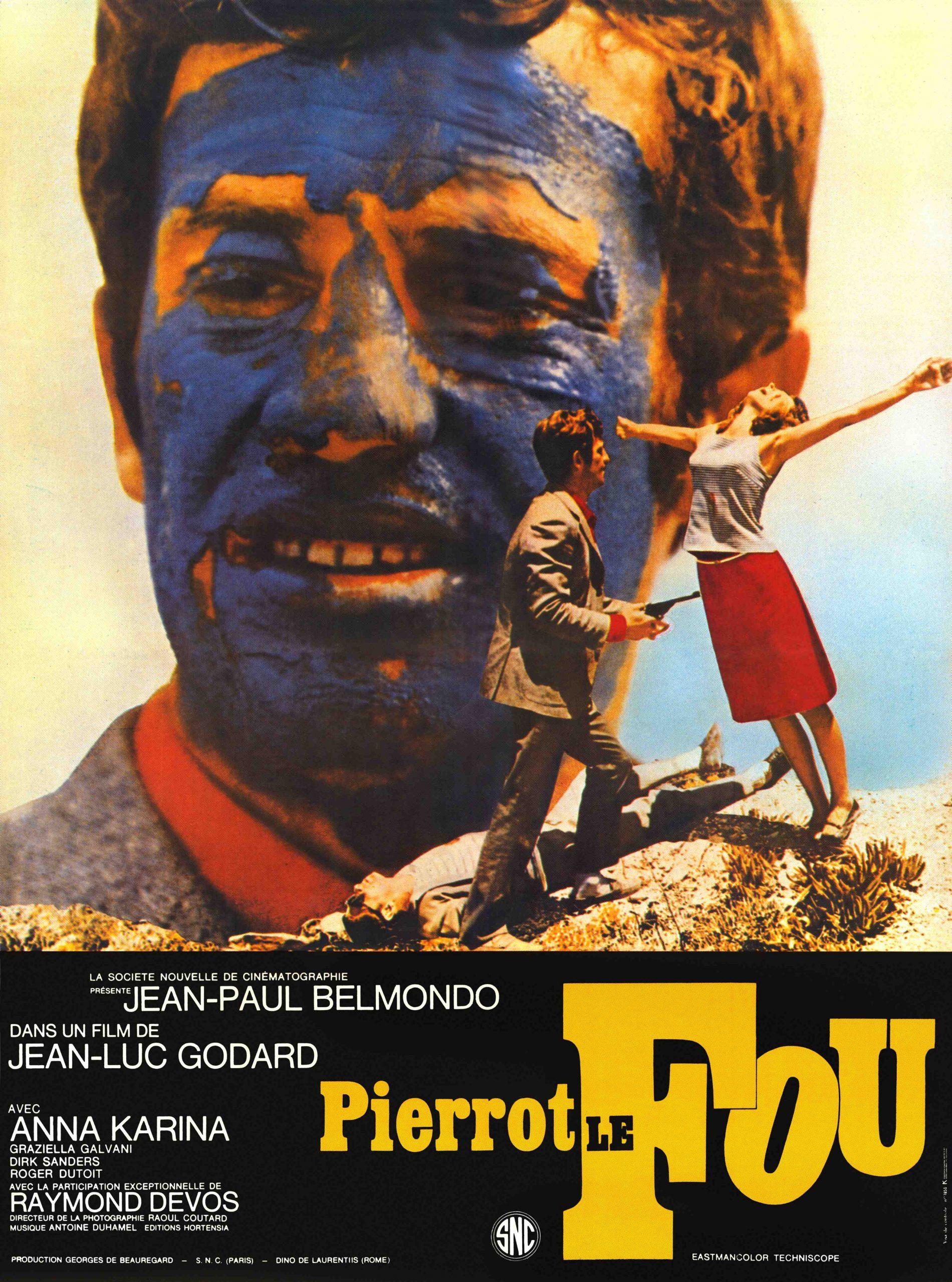 Πόστερ της ταινίας «Ο τρελός Πιερρό (1965) | Pierrot le Fou»