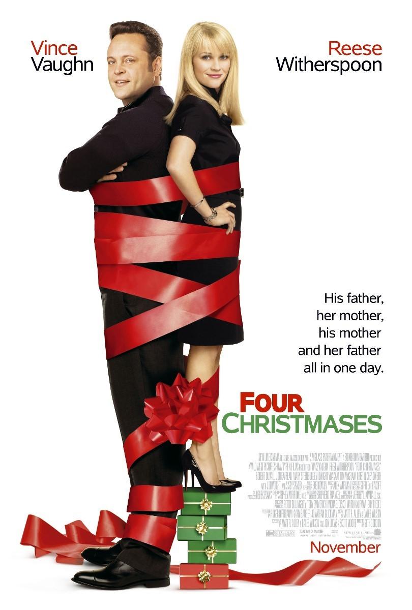 Πόστερ της ταινίας «Χριστούγεννα στα Τέσσερα (2008)   Four Christmases»
