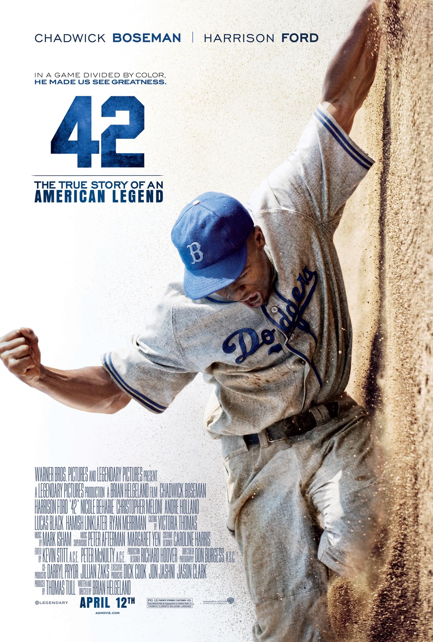 Πόστερ της ταινίας «42 (2013)»