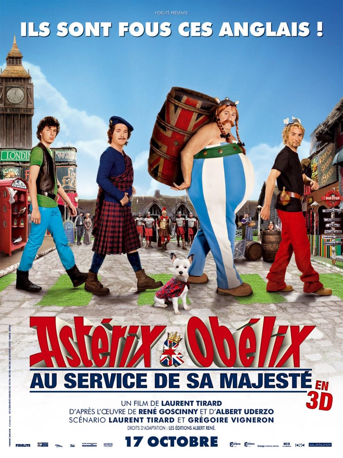 Πόστερ της ταινίας «Αστερίξ και Οβελίξ στη Βρετανία (2012)»