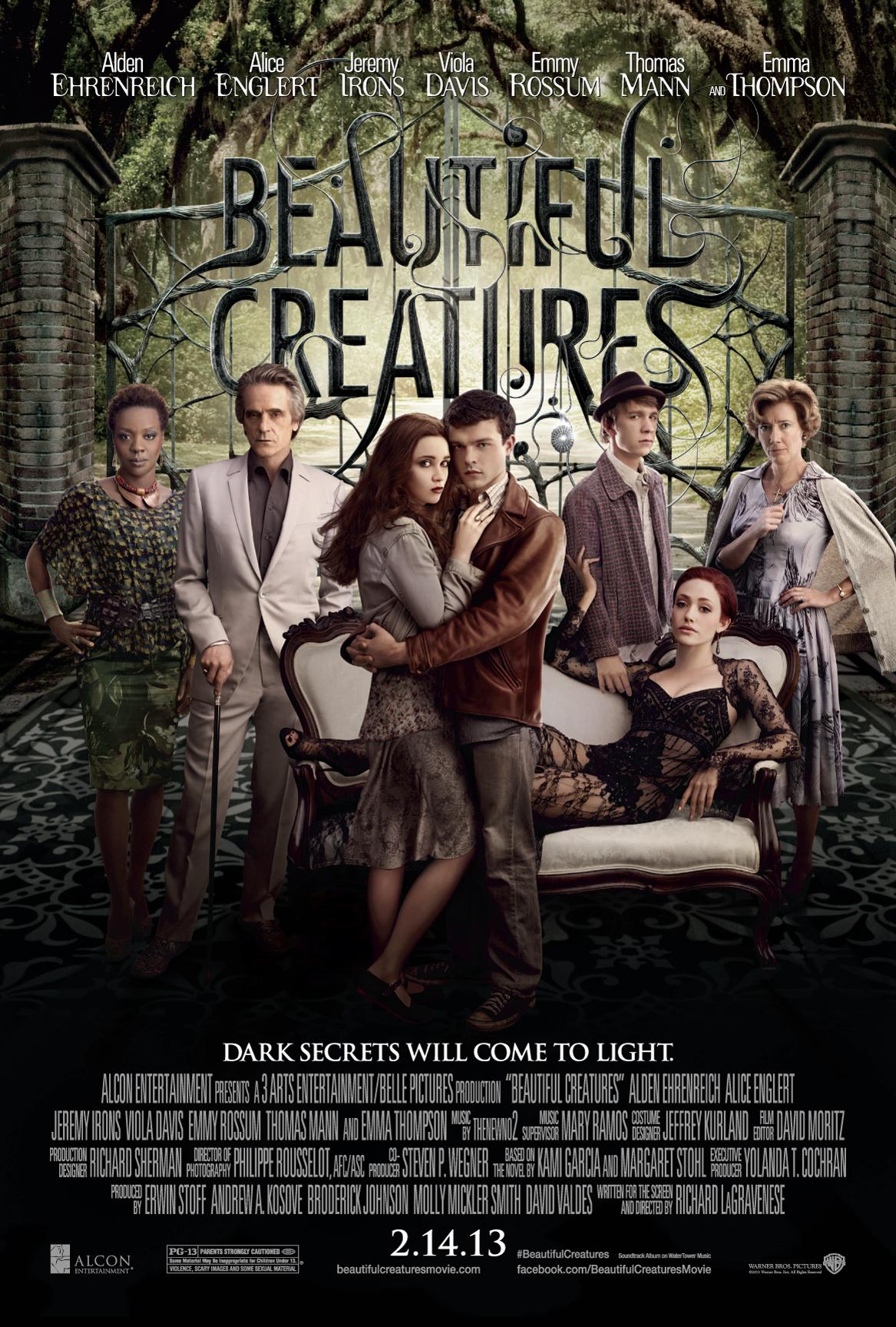 Πόστερ της ταινίας «Όμορφα Πλάσματα (2013)   Beautiful Creatures»