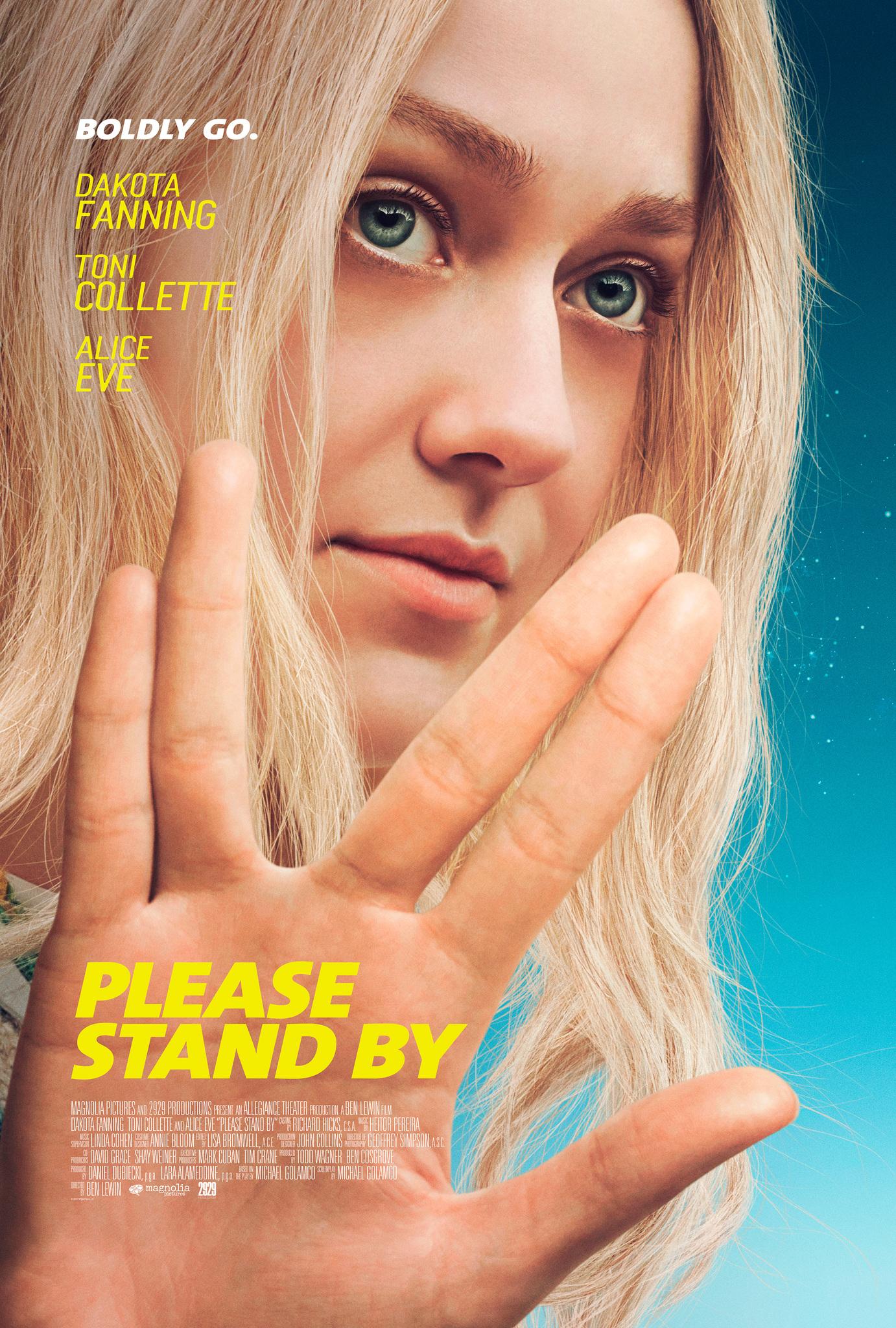 Πόστερ της ταινίας «Μείνε δίπλα μου (2017) | Please Stand By»
