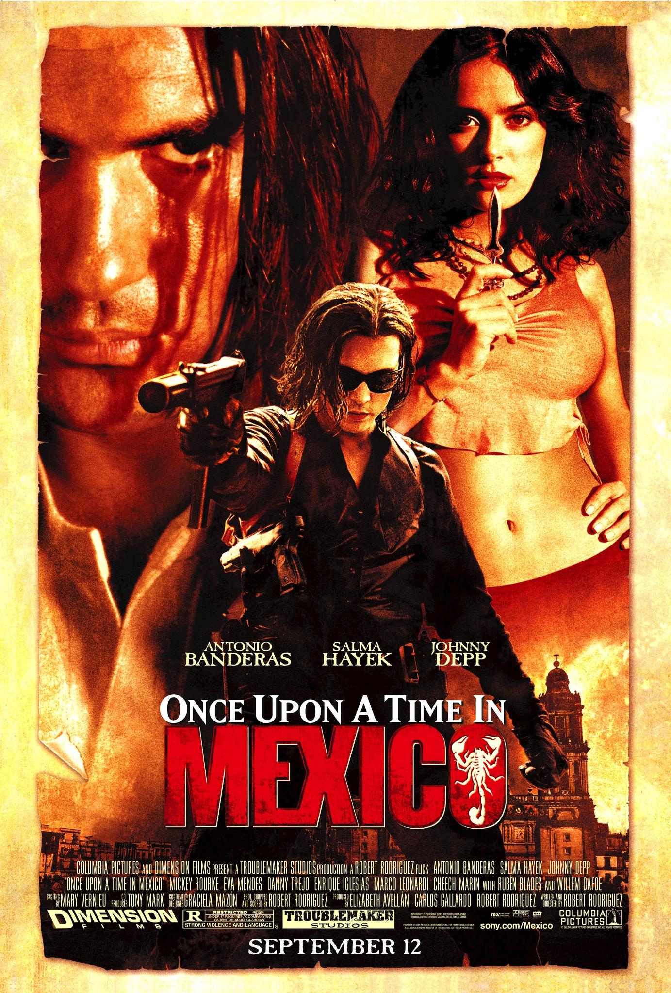 Πόστερ της ταινίας «Κάποτε στο Μεξικό (2003) | El Mariachi 3»