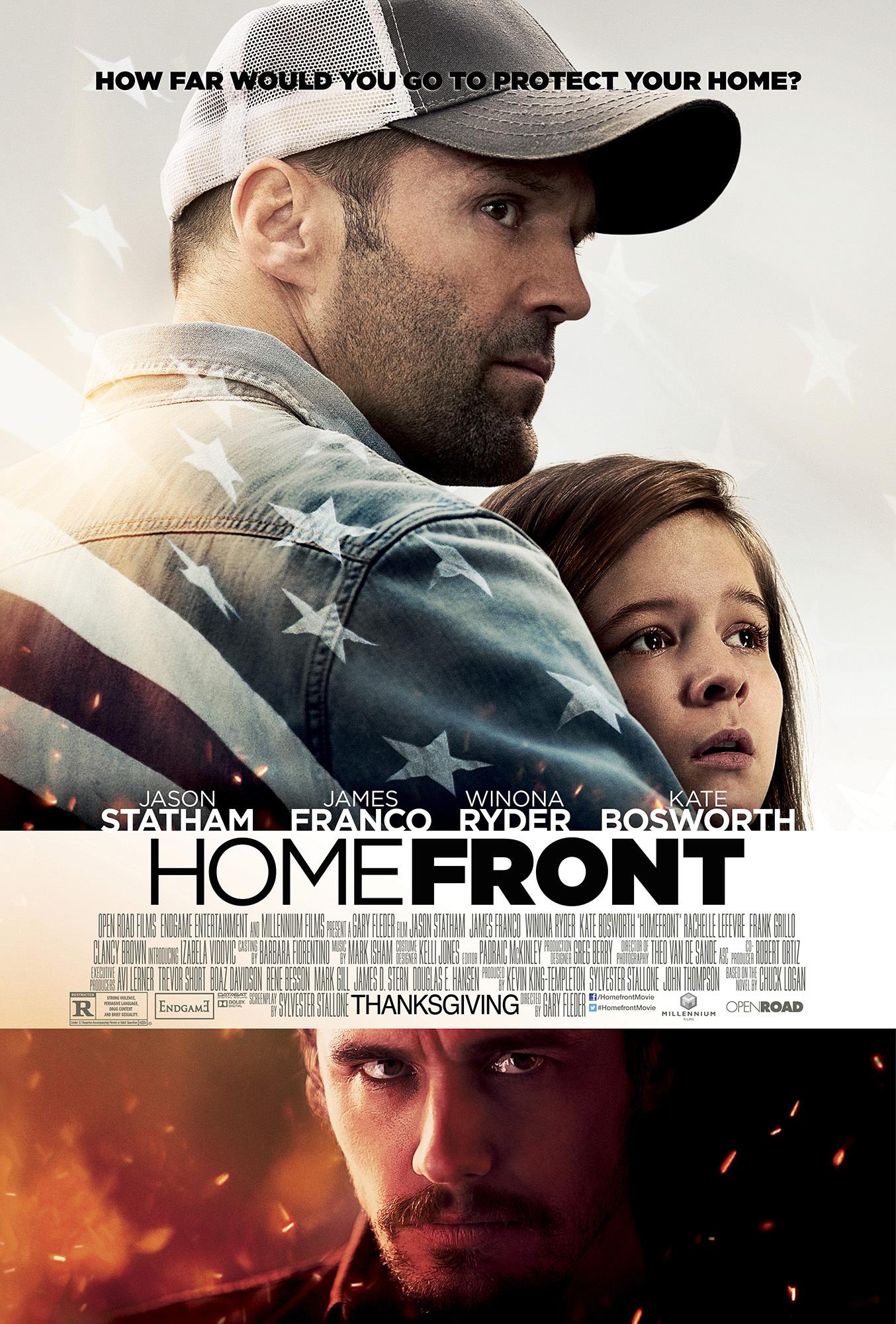 Πόστερ της ταινίας «Απρόσκλητος Επισκέπτης (2013)   Homefront»