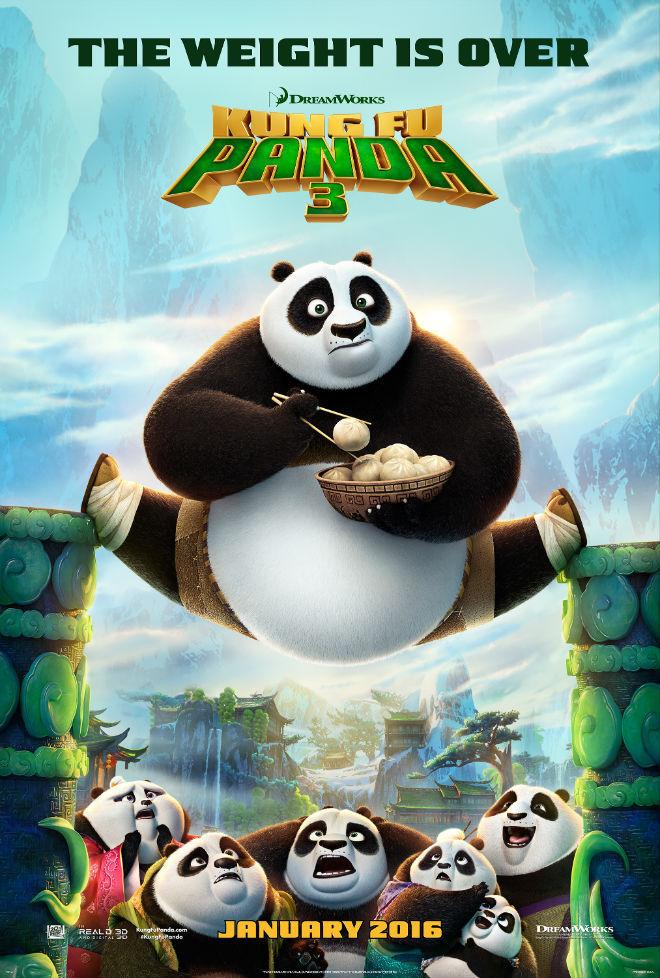 Πόστερ της ταινίας «Kung Fu Panda 3 (2016)»