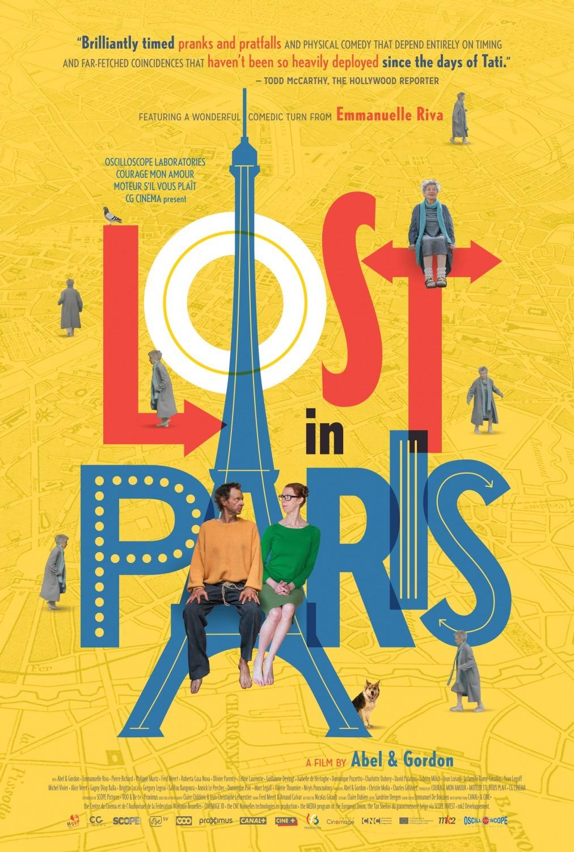 Πόστερ της ταινίας «Χαμένοι στο Παρίσι (2016)   Lost in Paris»