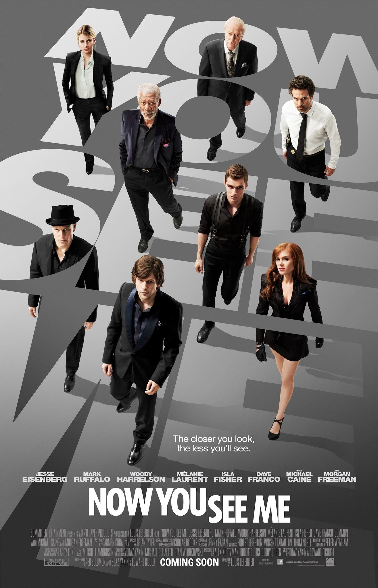 Πόστερ της ταινίας «Η Συμμορία των Μάγων (2013) | Now You See Me»