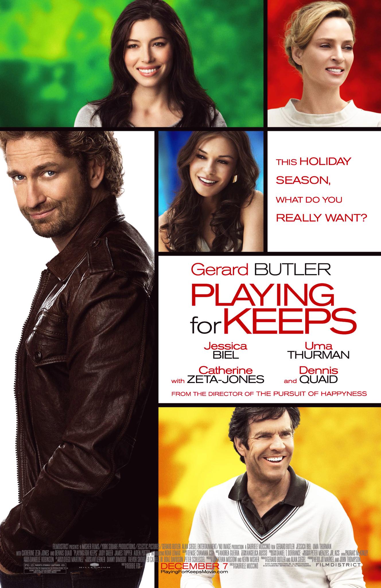 Πόστερ της ταινίας «Παίζοντας με την αγάπη (2012)   Playing for Keeps»