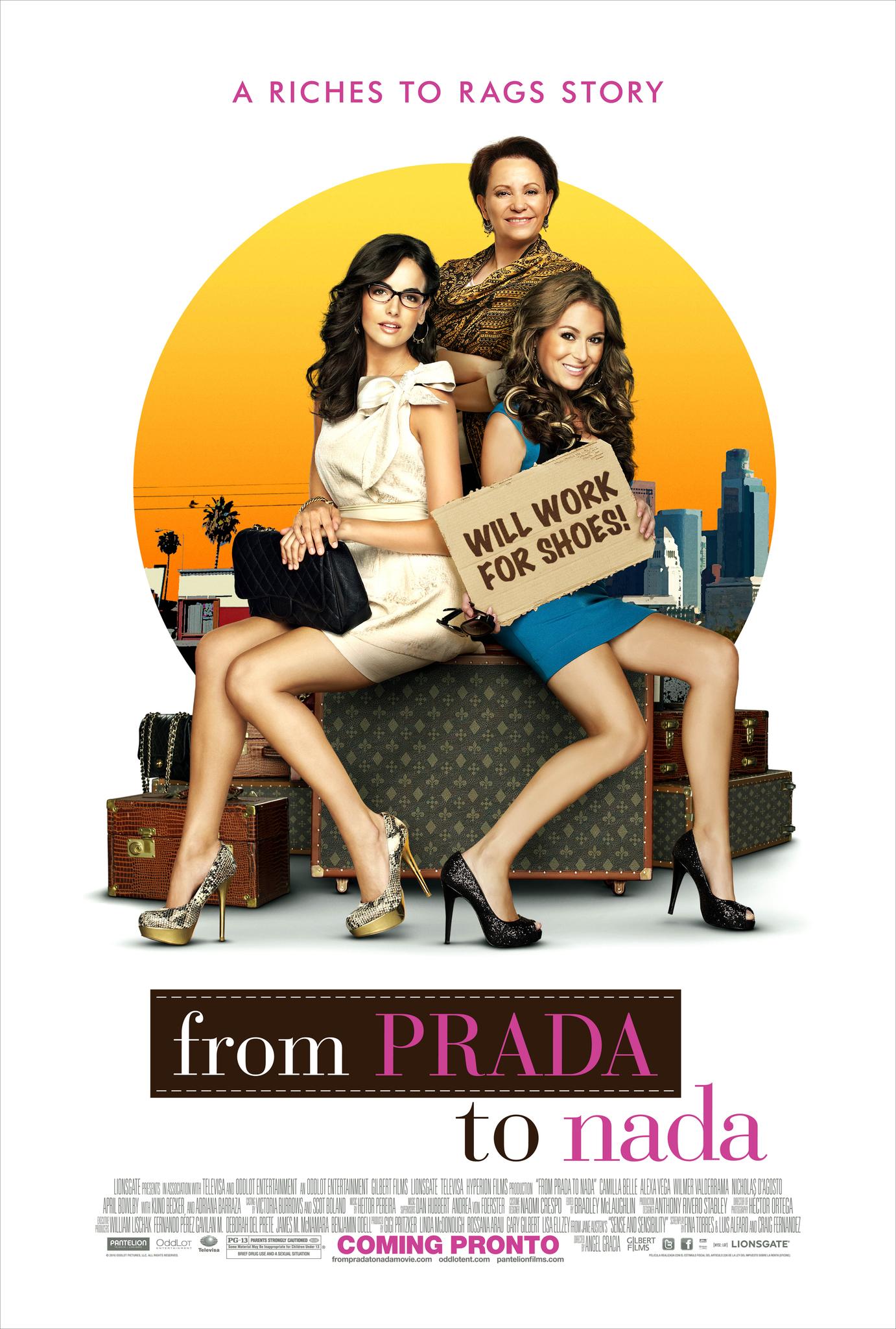Πόστερ της ταινίας «From Prada to Nada (2011)»