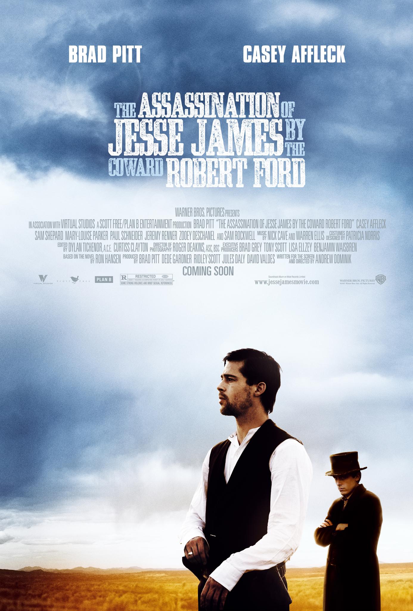 Πόστερ της ταινίας «Η δολοφονία του Τζέσε Τζέιμς από τον δειλό Ρόμπερτ Φορντ (2007)»