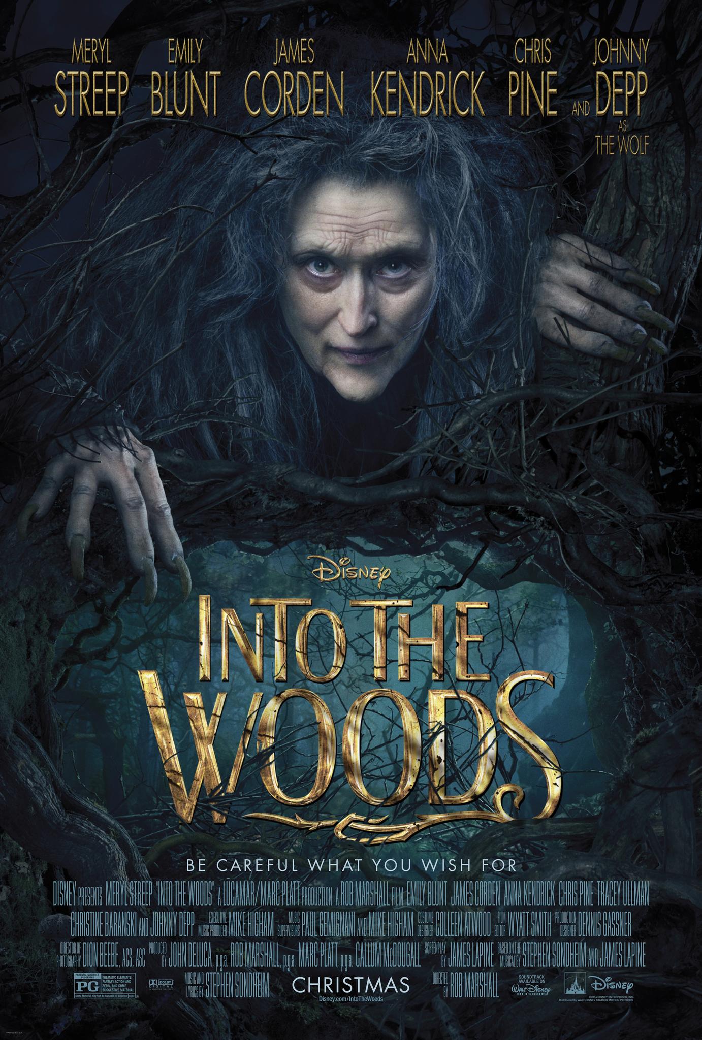 Πόστερ της ταινίας «Τα Μυστικά του Δάσους (2014) | Into the Woods»