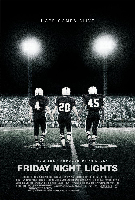 Πόστερ της ταινίας «Κυνηγώντας το Όνειρο (2004) | Friday Night Lights»
