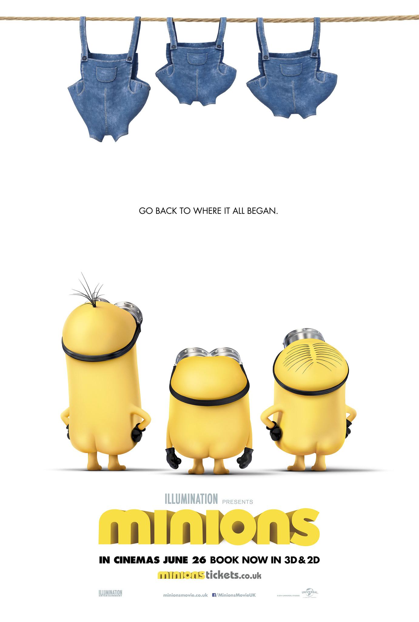 Πόστερ της ταινίας «Minions (2015)»