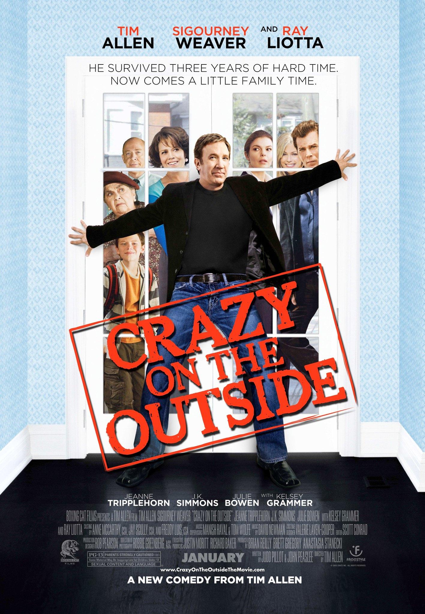 Πόστερ της ταινίας «Η Τρελή μου Οικογένεια (2010) | Crazy on the Outside»
