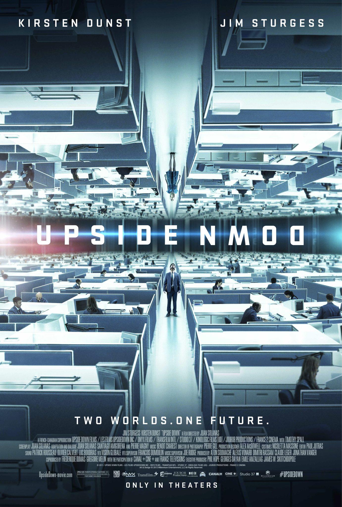Πόστερ της ταινίας «Ανάμεσα σε δύο κόσμους (2012) | Upside Down»