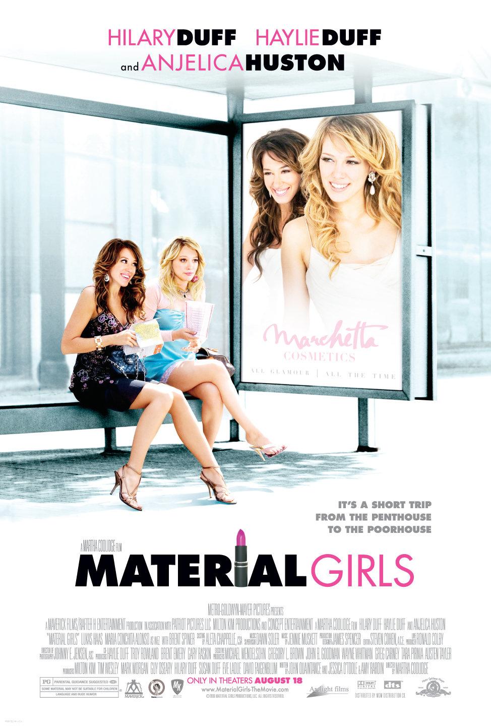 Πόστερ της ταινίας «Κορίτσια για καλοπέραση (2006)   Material Girls»