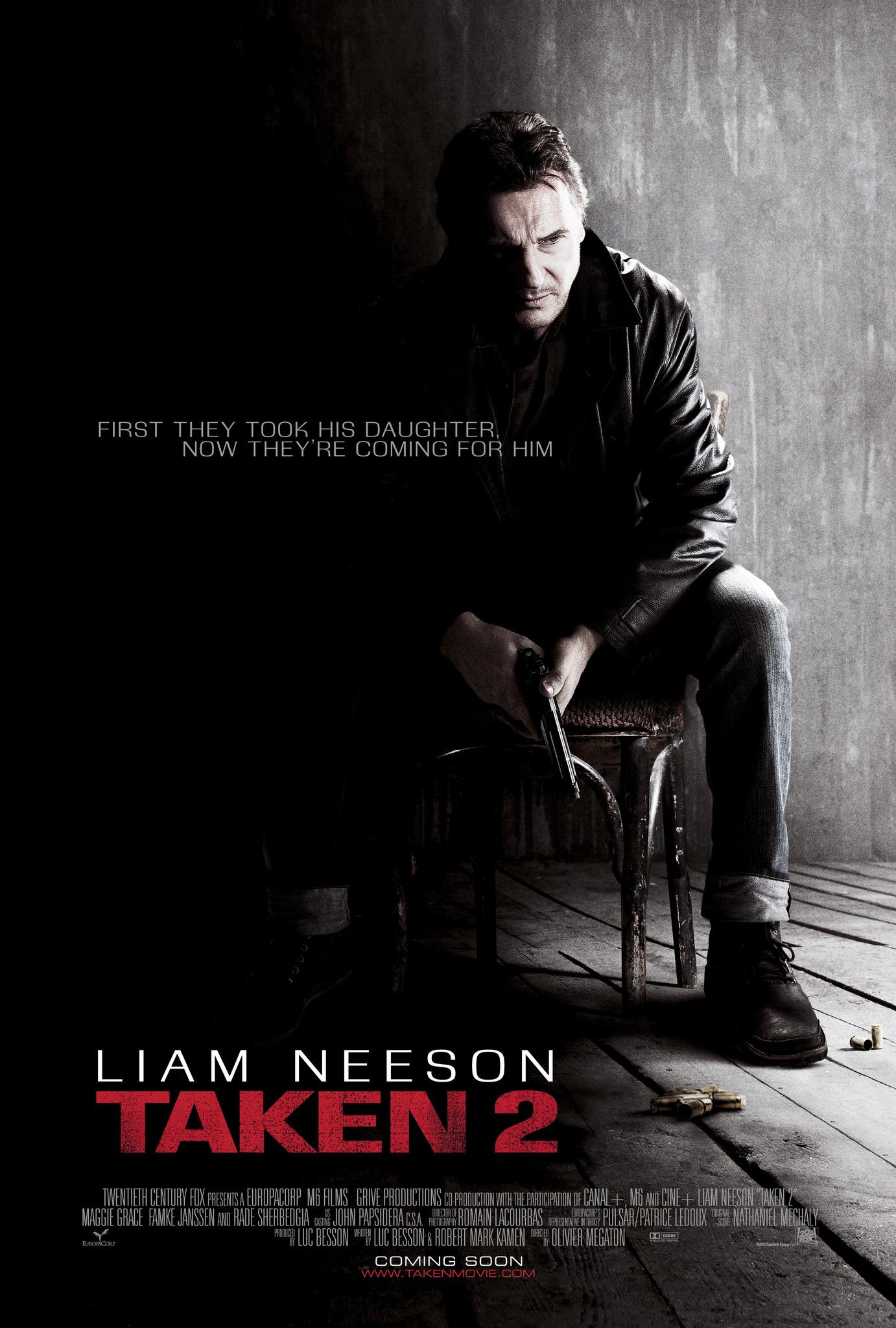 Πόστερ της ταινίας «Η Αρπαγή 2  (2012) | Taken 2»