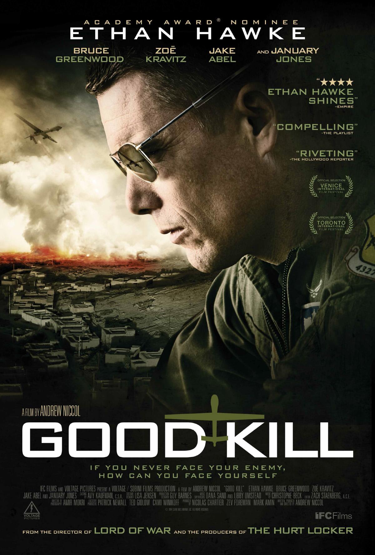 Πόστερ της ταινίας «Drones: Θάνατος Από Ψηλά (2014) | Good Kill»