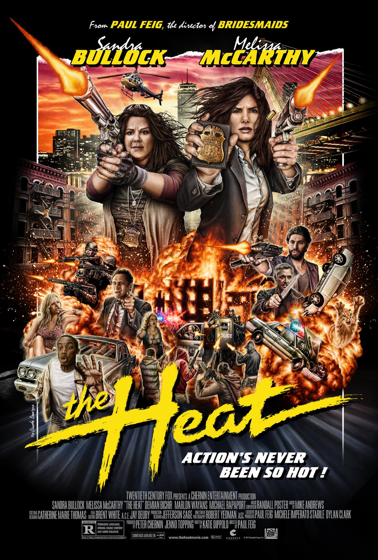 Πόστερ της ταινίας «Ντουέτο Εν Δράσει (2013) | The Heat»