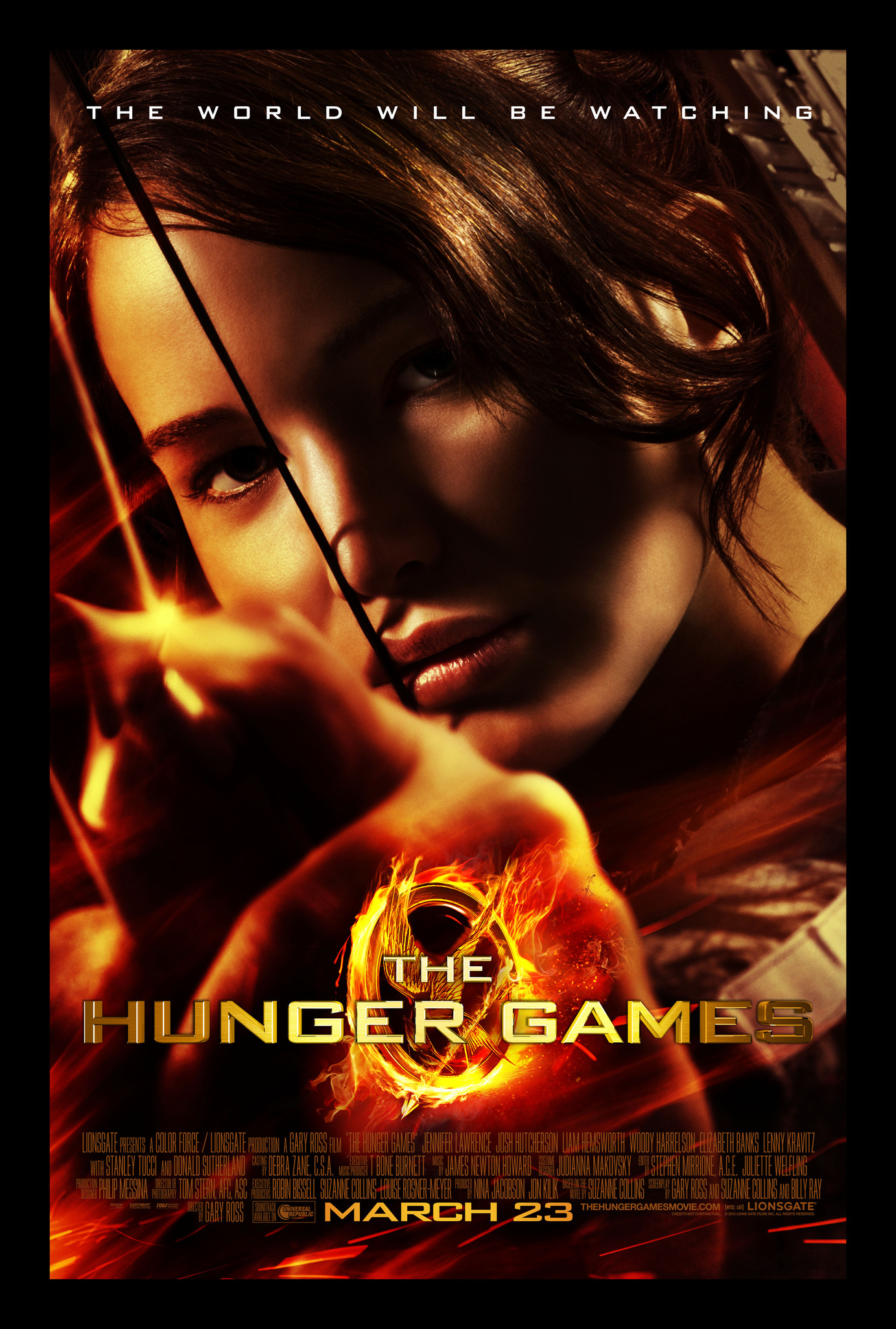 Πόστερ της ταινίας «Αγώνες Πείνας (2012) | The Hunger Games»