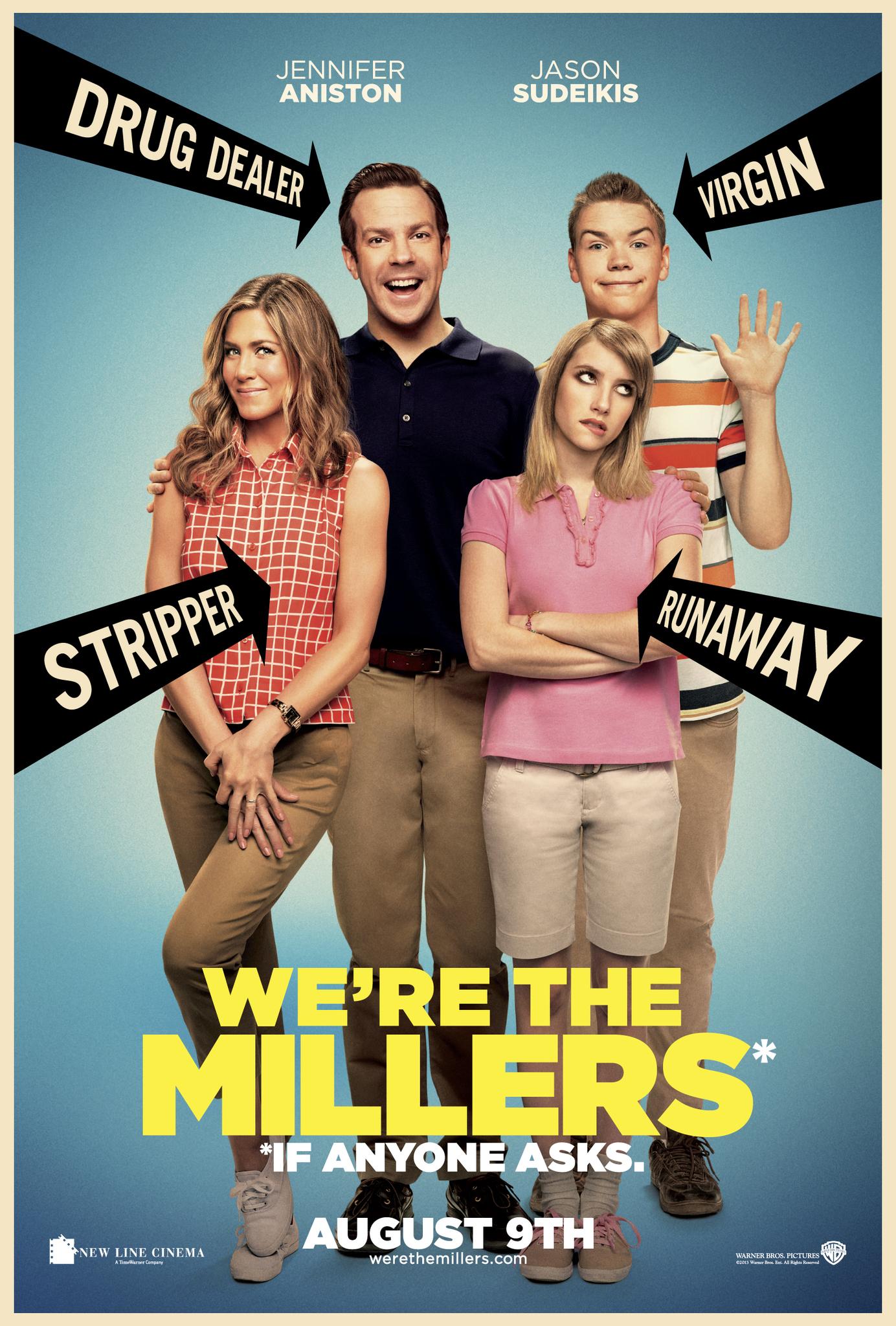 Πόστερ της ταινίας «Οικογένεια Μίλερ (2013)   We're the Millers»