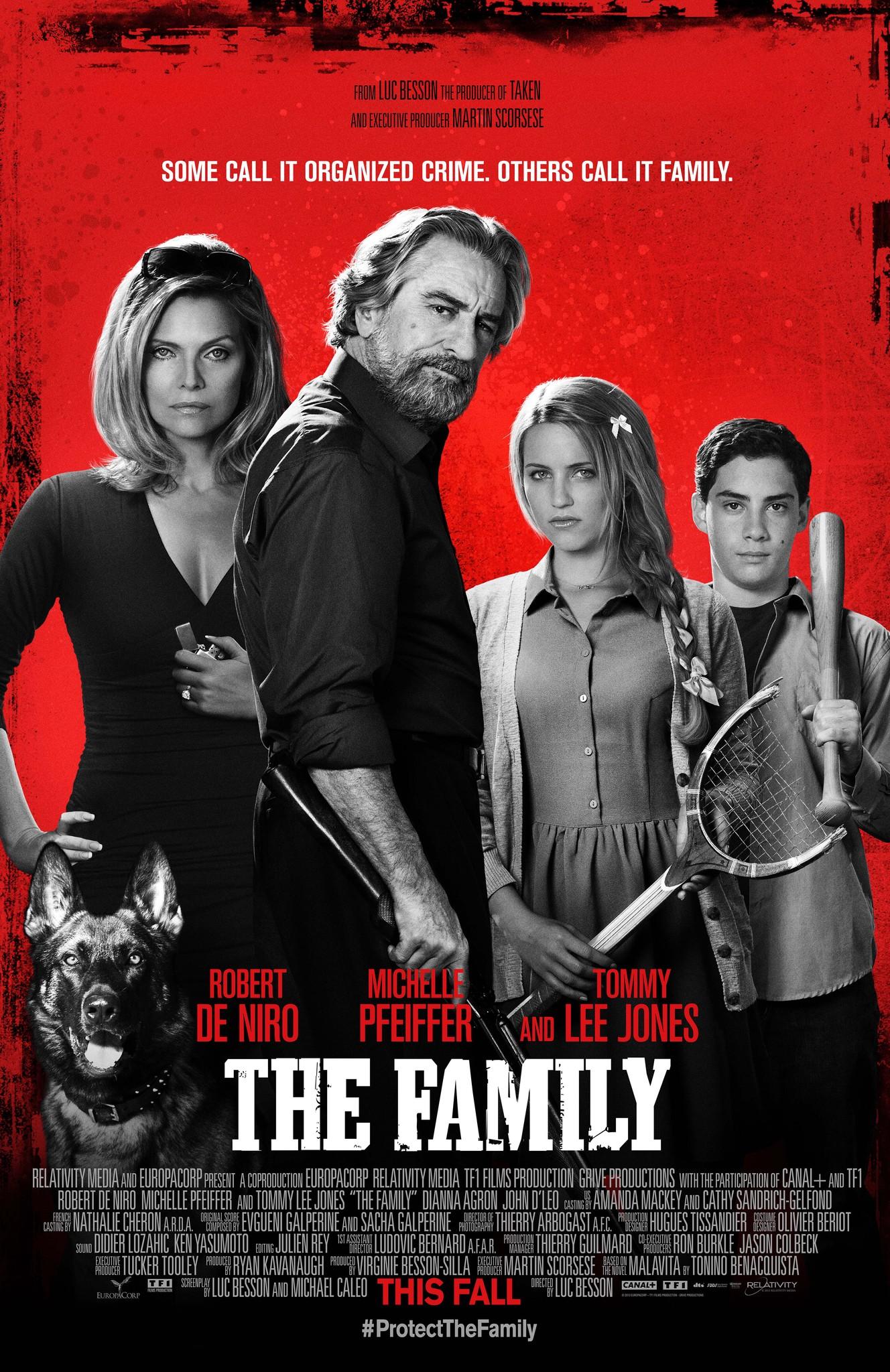 Πόστερ της ταινίας «Επικίνδυνη οικογένεια (2013)   The Family»